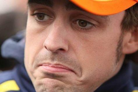 Fernando Alonso blickt der Reifennutzung in China skeptisch entgegen
