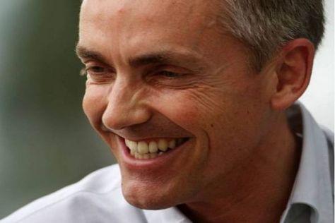 Jetzt ist er endlich alleiniger Chef des McLaren-Teams: Martin Whitmarsh