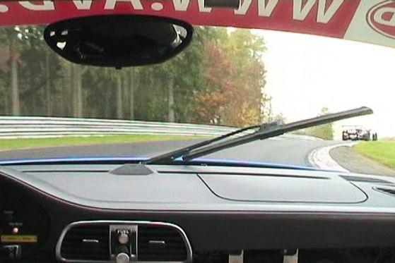 VLN 2009, Sabine Schmitz Frikadelli Racing Porsche 997, Nürburgring Hatzenbach