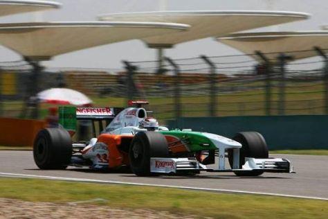 Adrian Sutil verpasste den Sprung in die Top 10 nur ganz knapp