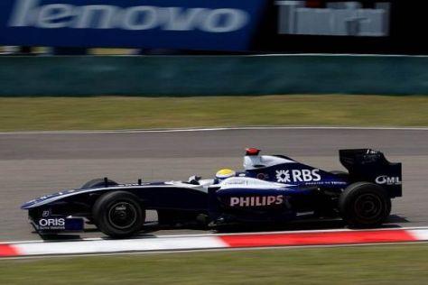Nico Rosberg verpasste die Bestzeit nur ganz knapp
