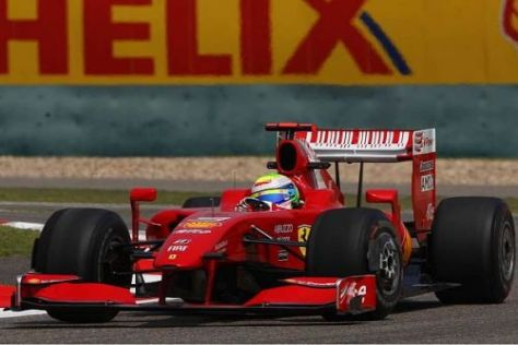 Felipe Massa war auch mit neuen Aerodynamik-Teilen nicht viel schneller