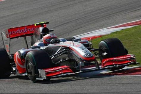 Heikki Kovalainen wurde durch einen neuen Frontflügel messbar beflügelt