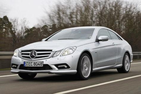 Fahrbericht Mercedes E-Klasse Coupé