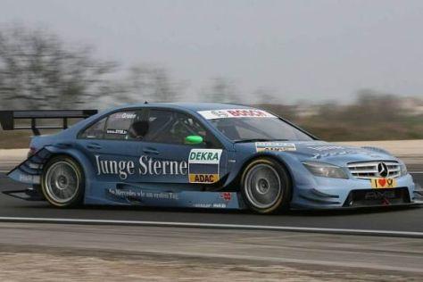 Beim Test in Dijon gab es schon den Hinweis: Jamie Green im Vorjahreswagen