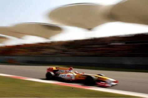 Fernando Alonso stürmte im Qualifying auf den zweiten Rang