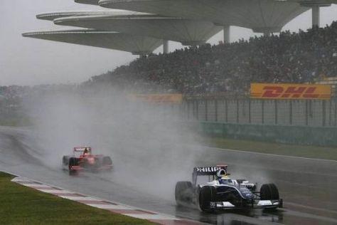 Nico Rosberg konnte die Gunst der Stunde nicht nutzen