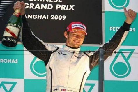 Jenson Button holte weitere wichtige Punkte