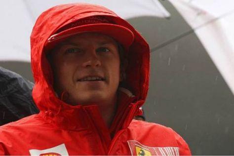 Wetterfest? Kimi Räikkönen bläst derzeit ein eiskalter Wind ins Gesicht...