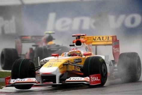 Fernando Alonso wurde vom Team zu früh an die Box geholt