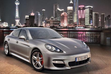 Porsche Panamera S in Shanghai
