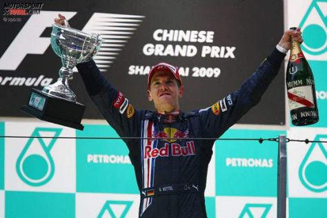 Formel-1-GP von China, Shanghai 2009, Sebastian Vettel Red Bull