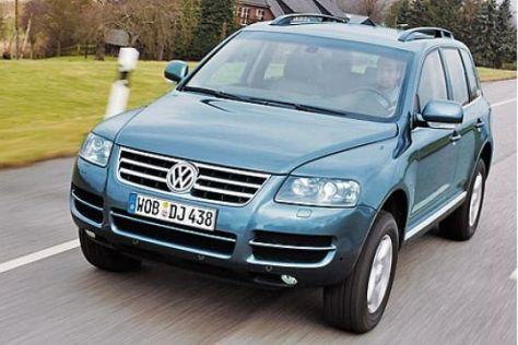 Test VW Touareg V6