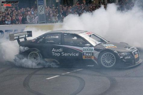 DTM-Präsentation 2009 in Düsseldorf, Timo Scheider DTM Audi A4