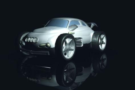 """Der Sieger Audi Design Wettbewerb SPORE: """"Audi TTT""""."""
