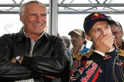 Der Chef und sein bestes Pferd im Stall: Dietrich Mateschitz und Sebastian Vettel
