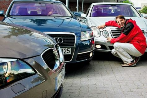 Vergleichstest Mercedes E-Klasse