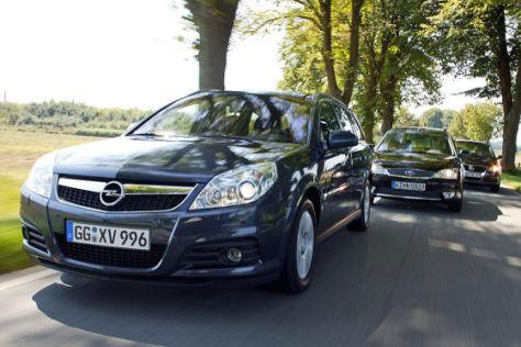 Opel Vectra Caravan 1.9 CDTI Ford Mondeo Turnier 2.0 TDCi VW Passat Variant 2.0 TDI