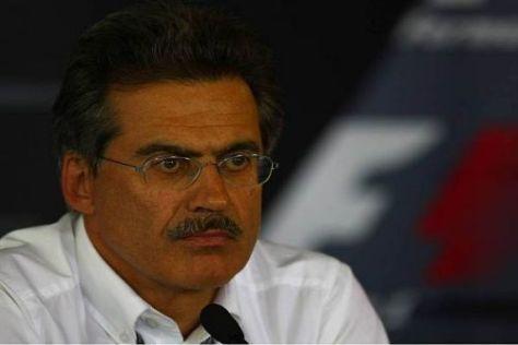 BMW Motorsport Direktor Mario Theissen hofft auf baldige Besserung bei BMW