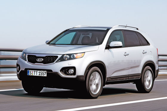 test kia sorento das sanfte suv. Black Bedroom Furniture Sets. Home Design Ideas