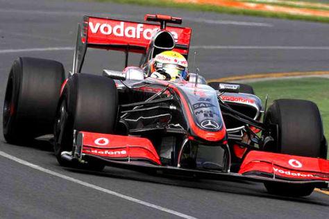 Formel 1, GP von Australien 2009, Lewis Hamilton McLaren Mercedes