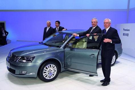 Der VW Lingyu ist ein modifizierter Passat.