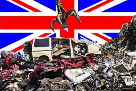 Abwracken auf britisch
