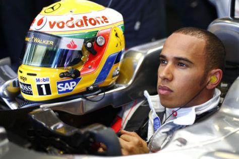 Formel 1 Saison 2009, Lewis Hamilton Vodafone McLaren-Mercedes