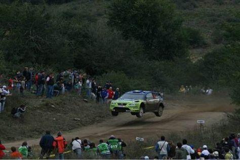 Pisten-Tango vor begeisterten Fans: Das ist typisch für die Rallye Argentinien