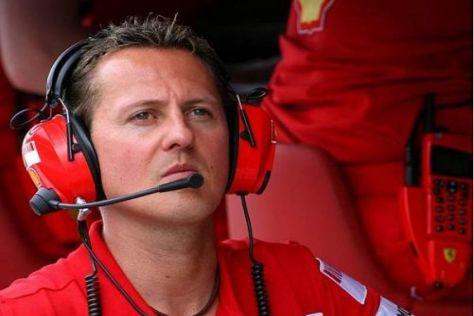 Michael Schumacher hat kein Problem damit, zu seinen Fehlern zu stehen