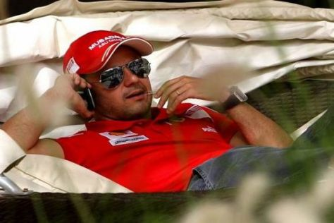 Relaxt: Felipe Massa ist trotz der Krise bei Ferrari recht guter Dinge