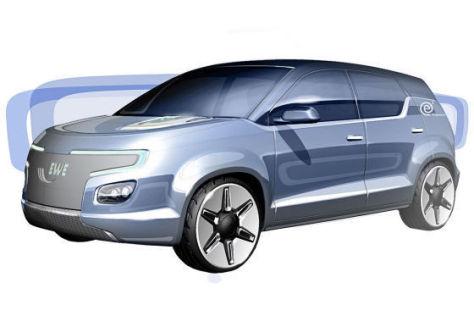 E3 Elektroauto von EWE und Karmann