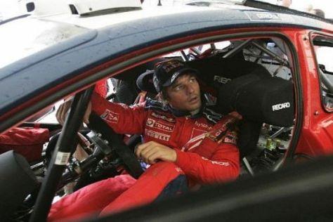 Sébastien Loeb gab beim Shakedown in Argentinien das Tempo vor