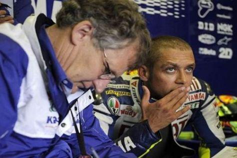 Im Lager von Valentino Rossi gab es keine kritischen Anmerkungen zum Training