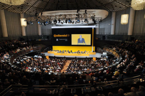 Aktionärstreffen bei Continental 2009
