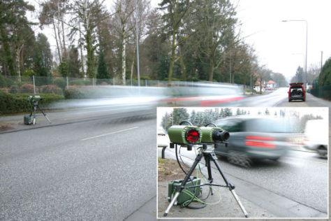 Poliscan Speed mit abgesetzter Kamera