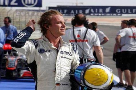 Nico Rosberg strotzt nach der Bestzeit im Freien Training vor Selbstbewusstsein