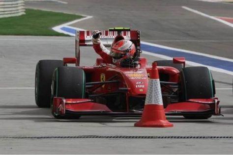 Kimi Räikkönen nach dem Qualifying: Mehr als der zehnte Platz war nicht drin