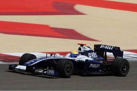 Nico Rosberg erwartet sich von Startplatz neun aus den einen oder anderen Punkt