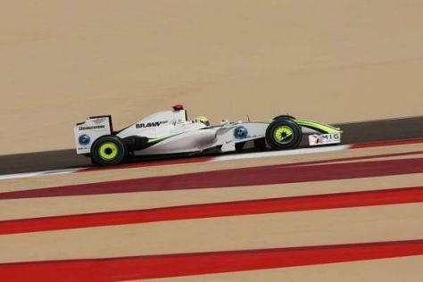 Jenson Button hatte diesmal keine Chance auf die Pole Position