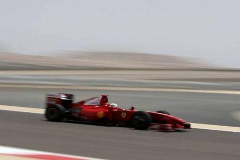 Felipe Massa ist einen Tick schneller, aber nach wie vor nicht schnell genug