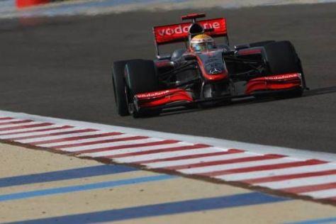 Lewis Hamilton ist glücklich, er kommt der Pole Position wieder näher