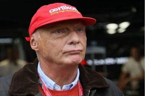 Völlig losgelöst: Niki Lauda will als Pilot noch weiter nach oben