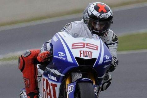 Jorge Lorenzo hat nach dem Sieg die Spitze in der Gesamtwertung übernommen