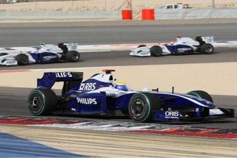 Nico Rosberg scheiterte an Fernando Alonso und damit an den WM-Punkten