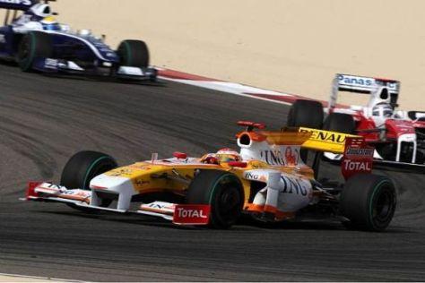 Fernando Alonso kämpfte bis zur Erschöpfung