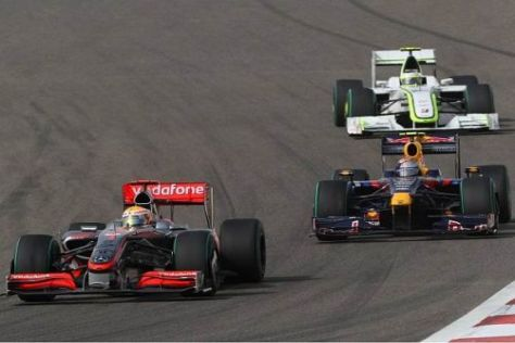 Lewis Hamilton lieferte heute in Bahrain sein bisher bestes Saisonrennen ab