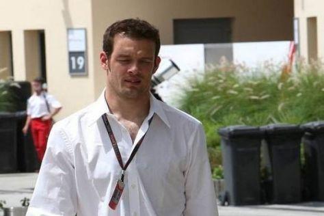 Alexander Wurz ist als Brawn-Berater und 'ORF'-Experte bei allen Rennen dabei