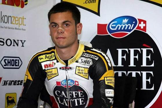Motorrad-WM 2009, 125er-Klasse, Sandro Cortese Ayo Aprilia