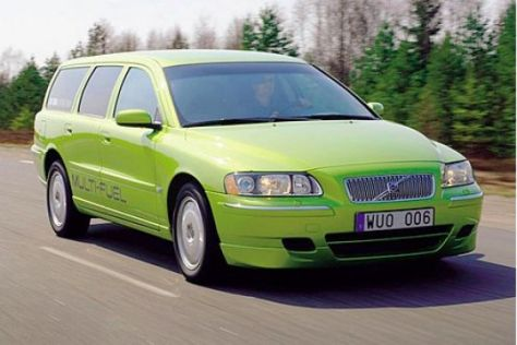 "Volvo V70 ""Multi-Fuel"""